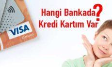 Hangi Bankada Kredi Kartım Var