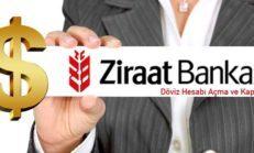 Ziraat Bankası Döviz Hesabı Açma Ve Kapatma