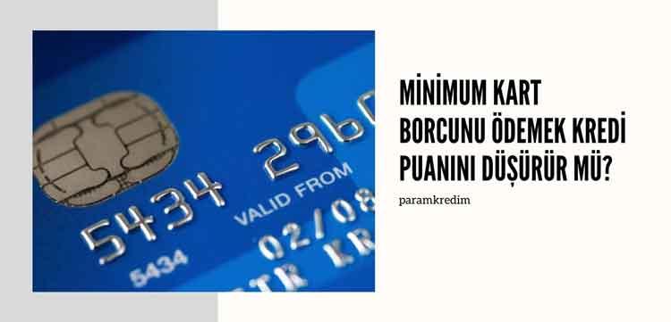 kredi puanı düşürme yöntemleri