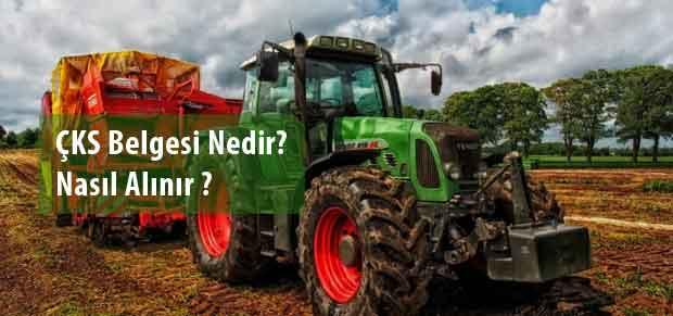 Tarım Hibe Kredileri İçin Çiftçi Kayıt Sistemine (ÇKS) Kayıt Olmak
