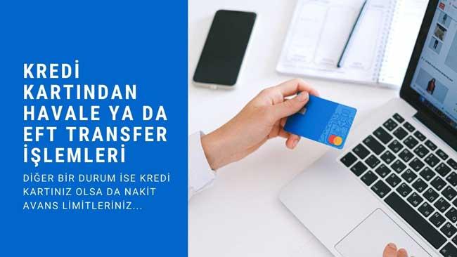 Kredi Kartından Para Gönderme (Eft Ve Havale) Hesaba Nasıl Yapılır