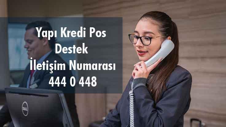 Yapı Kredi Pos Destek İletişim Numarası