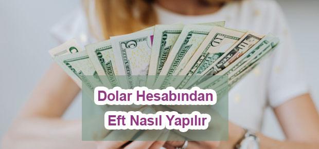 Dolar Hesabından Eft Nasıl Yapılır çözüm önerileri nelerdir